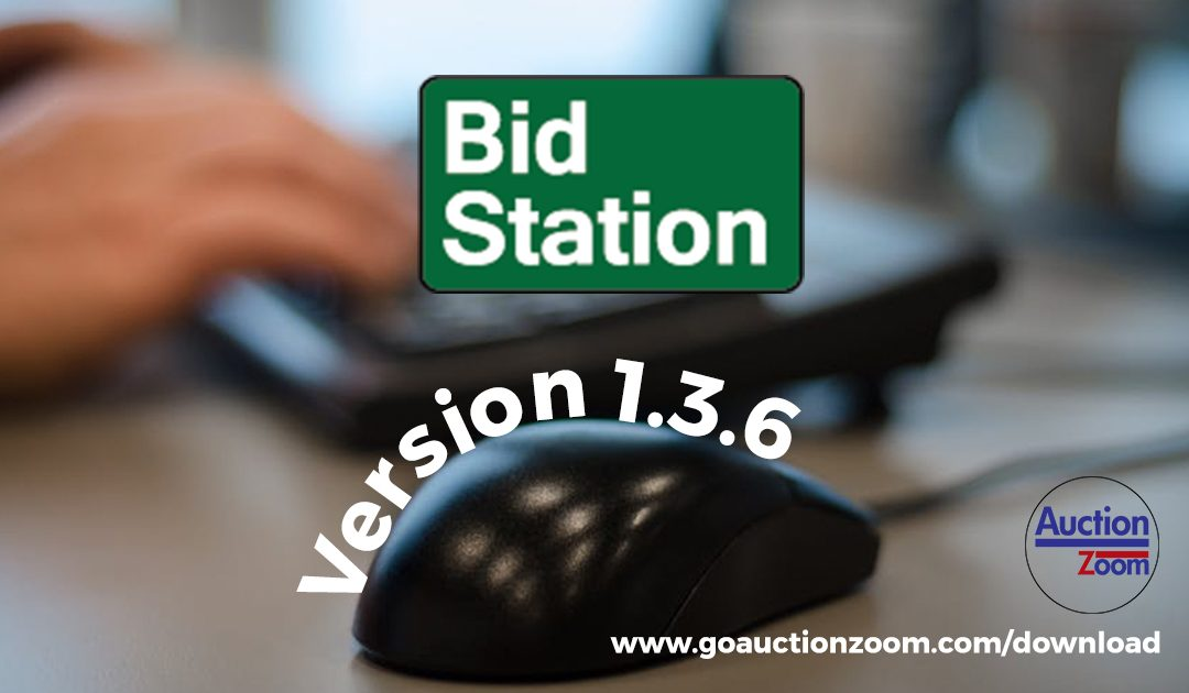 BidStation 1.3.6 Update