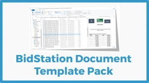 BidStation Document Templates