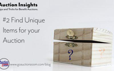 Auction Insights #2 – Unique Items