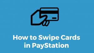 Swiping credit cards with PayStation