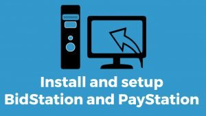 Installing BidStation and PayStation