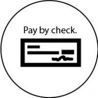 Pay by check (mail)
