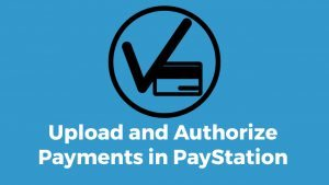 Uploading and processing payments